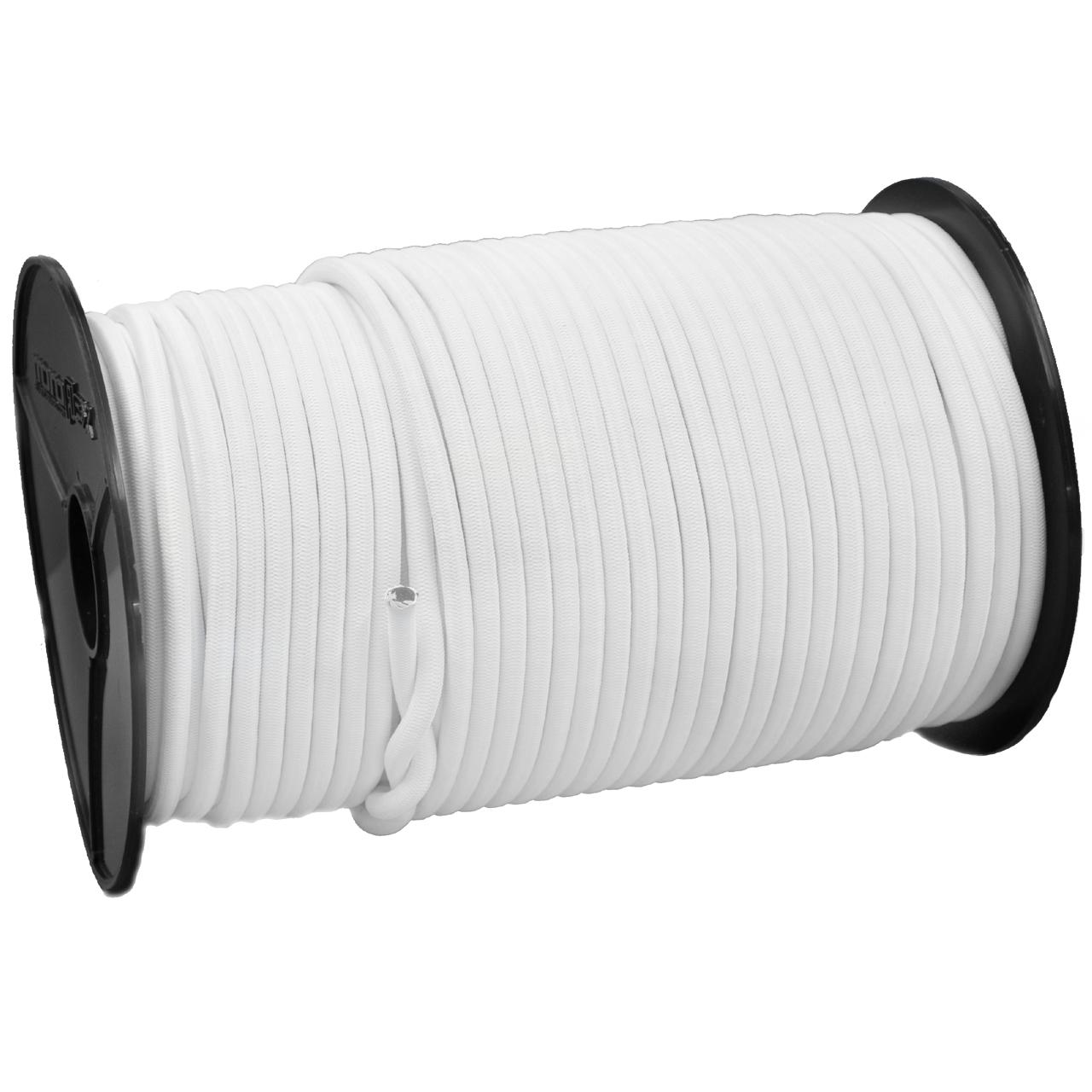 SCHNURHAUS - Monoflex Expanderseil mit Polyethylen (PE) Mantel weiss