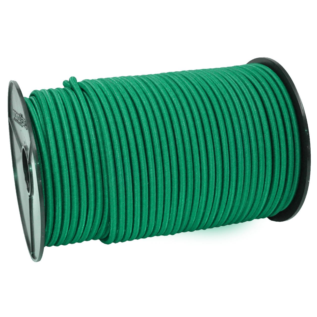 SCHNURHAUS - Monoflex Expanderseil mit Polyethylen (PE) Mantel grün