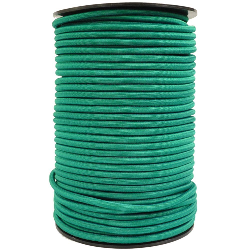 SCHNURHAUS - Monoflex Expanderseil mit Polypropylen (PP) Mantel grün